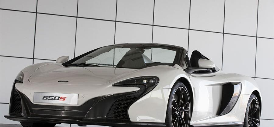McLaren 650S Spider Al Sahara 79 is a bespoke car only for the Middle East