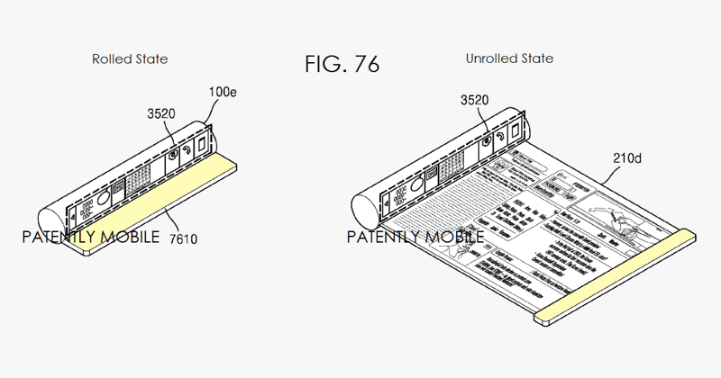 New Samsung patent continues dream of rollable, foldable phones