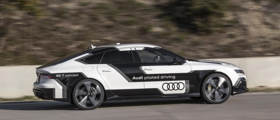 Man vs Machine: My rematch against Audi's new self-driving RS 7