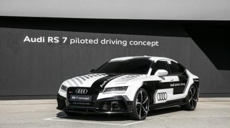 "2016 Audi RS 7 piloted driving concept ""Robby"" gallery"