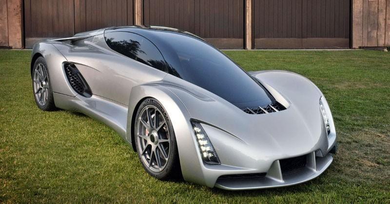 Meet Blade, the world's first 3D printed supercar