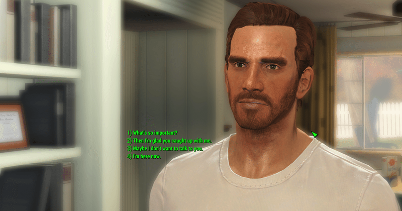Fallout 4 mod brings back full dialogue options