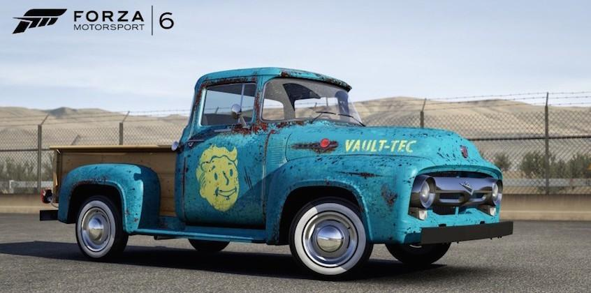 Fallout 4 cars come to Microsoft's Forza Motorsport 6