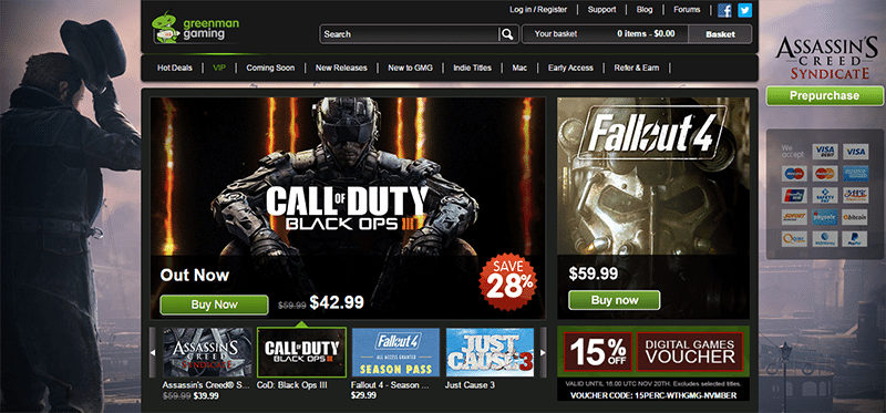 Green Man Gaming under fire for potentially unauthorized sales