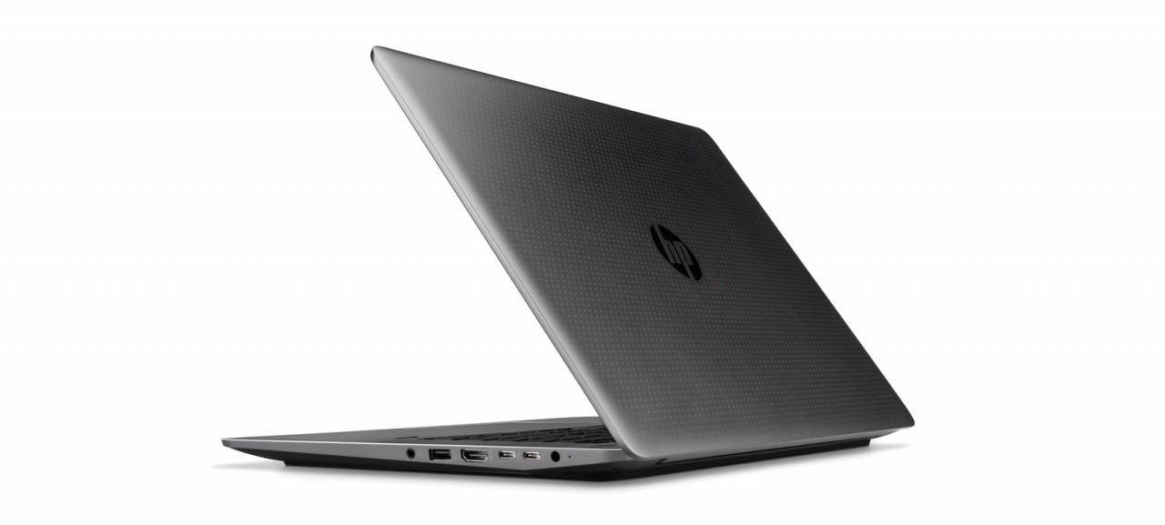 HP ZBook Studio G3 Mobile Workstation, Rear Facing 3 quarter view