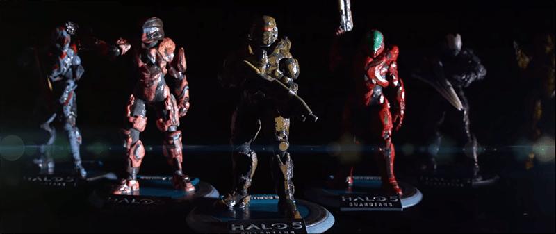 3D print your own custom Halo 5 Spartan