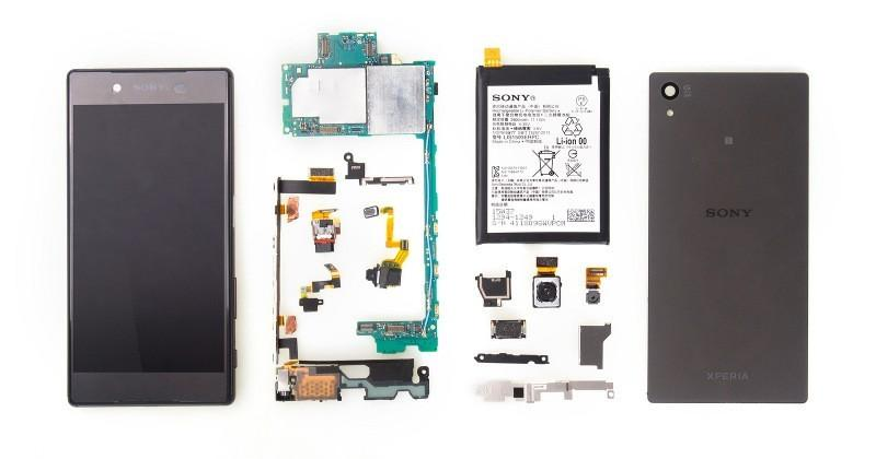 Sony Xperia Z5 teardown shows a few hidden traps
