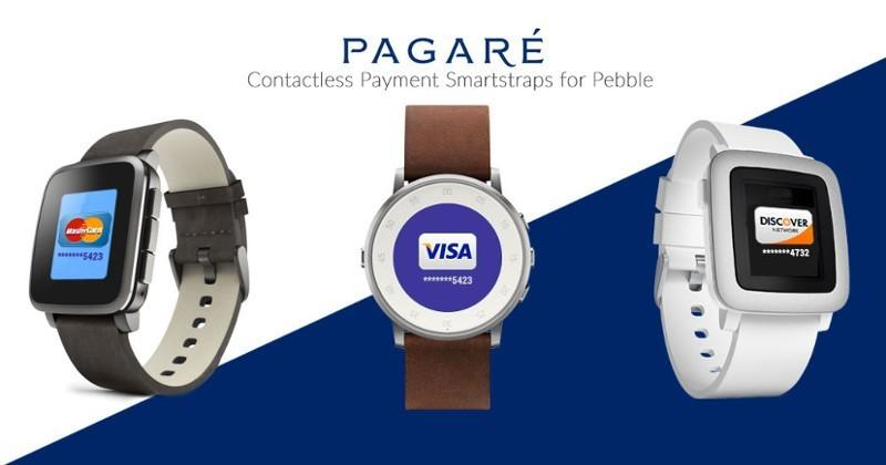 Pagaré smartstrap gives Pebble Time wireless payment powers