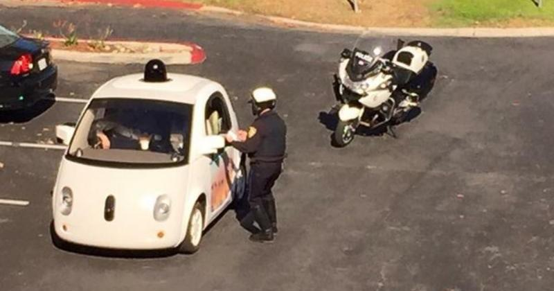 Google self-driving car pulled over for driving too slow