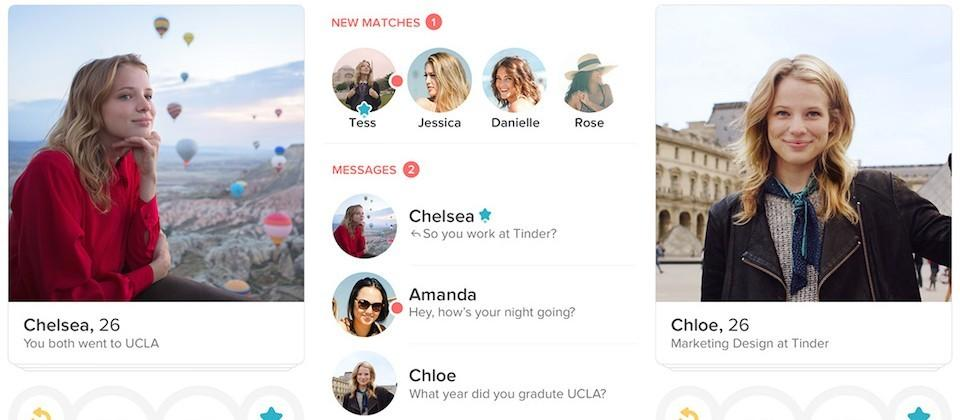 Tinder updates with new profile info, improved messaging, and better algorithms