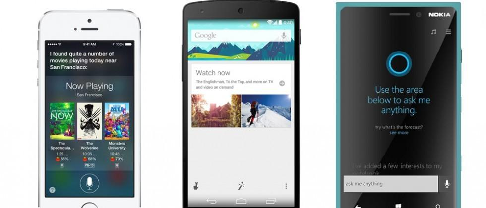 Siri tops Google Now, Cortana in user satisfaction, accuracy