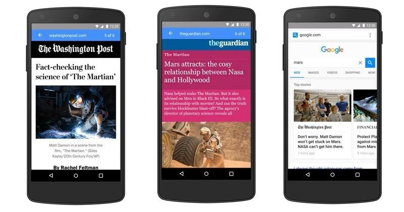 Google to debut Accelerated Mobile Pages in early 2016
