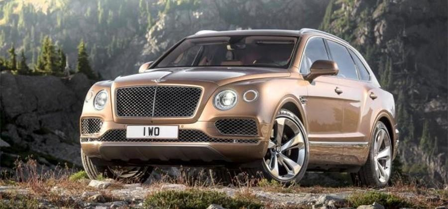 Bentley Bentayga with more performance tipped for next year