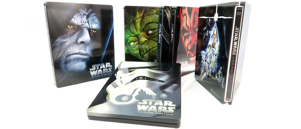 Star Wars Blu-ray Steelbook set Review: back to beautiful basics