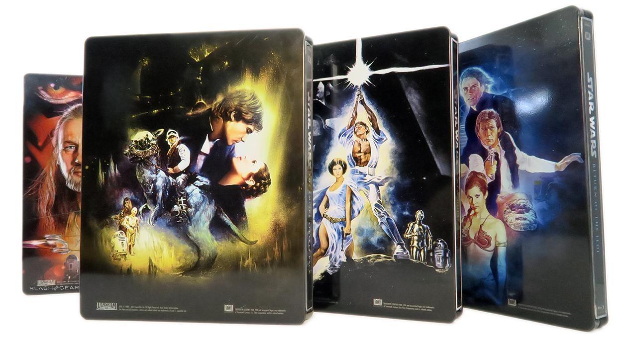 Star Wars Blu-ray Steelbook set Review: back to beautiful basics