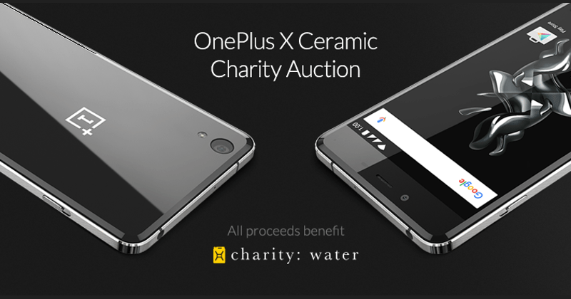 OnePlus X Ceramic edition launched with charity auction