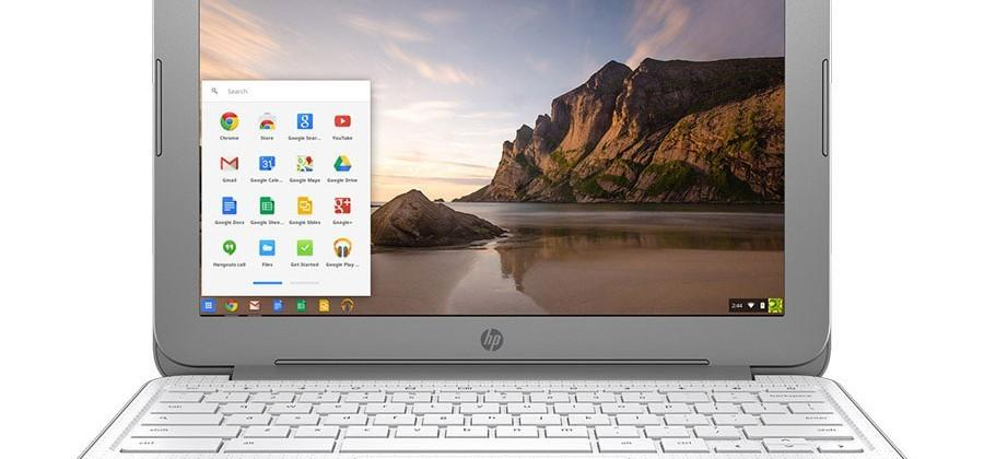 HP Chromebook 14 promises over 9 hours of battery life per charge