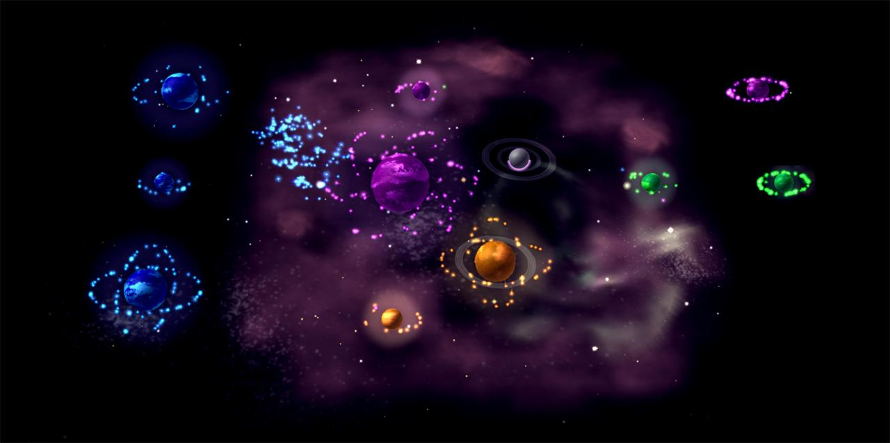 Ultra-addictive space dots game Auralux returns with