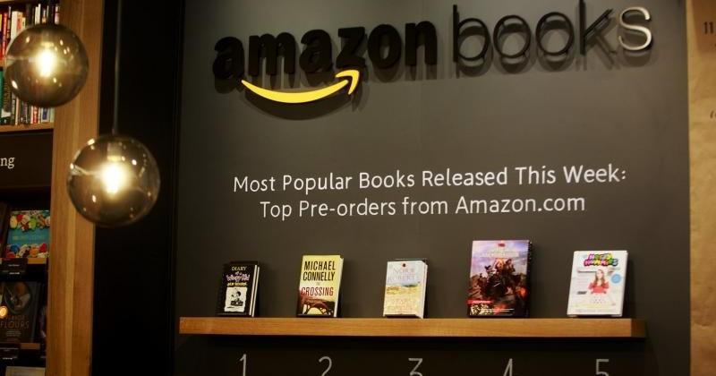 Amazon now has a physical bookstore in University Village