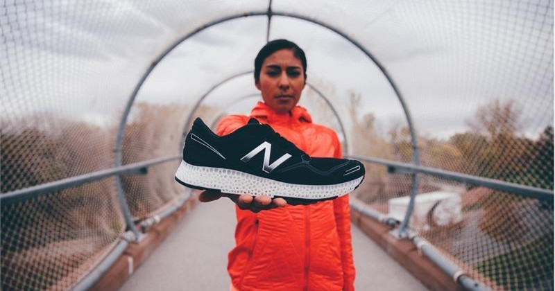 New Balance unveils its own 3D-printed running shoes