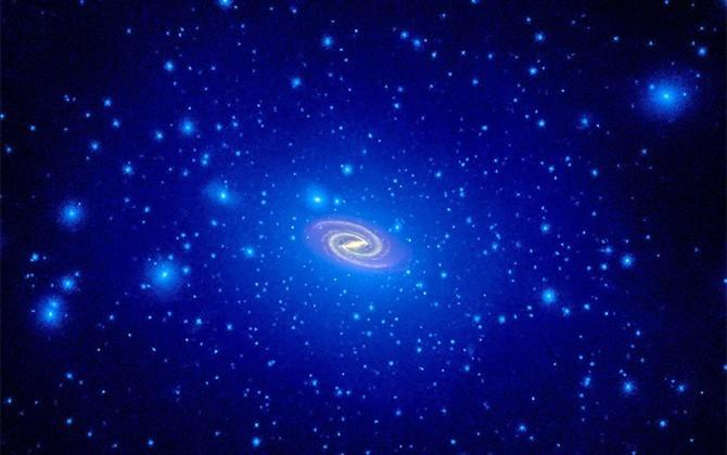 Nearby galaxy discovered to have most dark matter ever known
