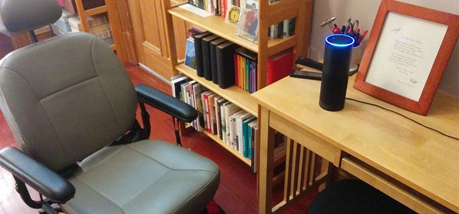 Amazon Echo hacked to control power wheelchair
