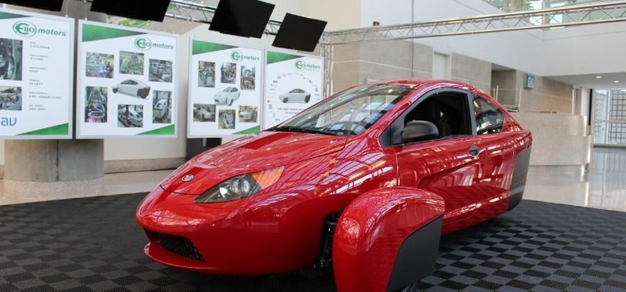 Elio Motors P5 prototype boasts 84mpg efficiency from a 0.9L 3-cylinder
