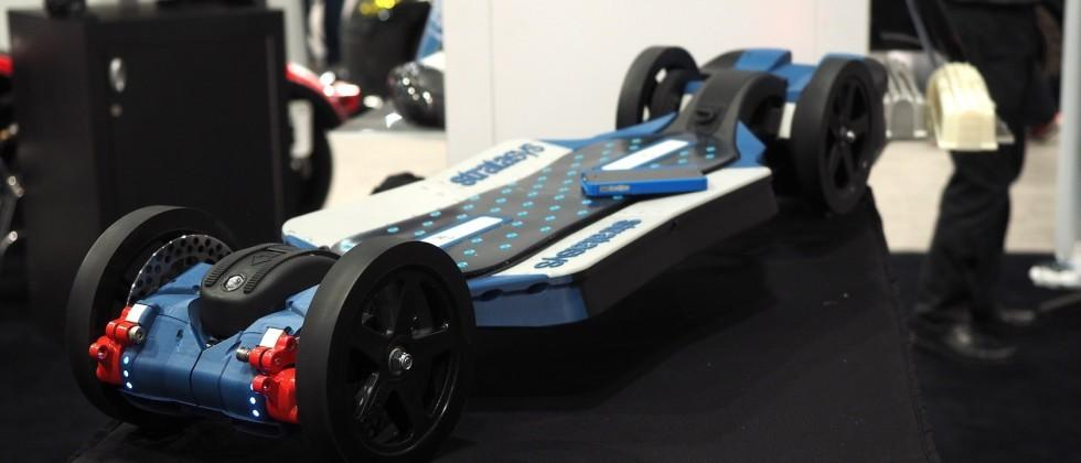 Forget hoverboards, this 3D printed electric skateboard is cooler