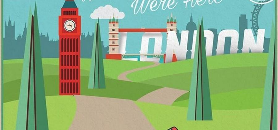 Fiat 124 teased with posters from around Europe