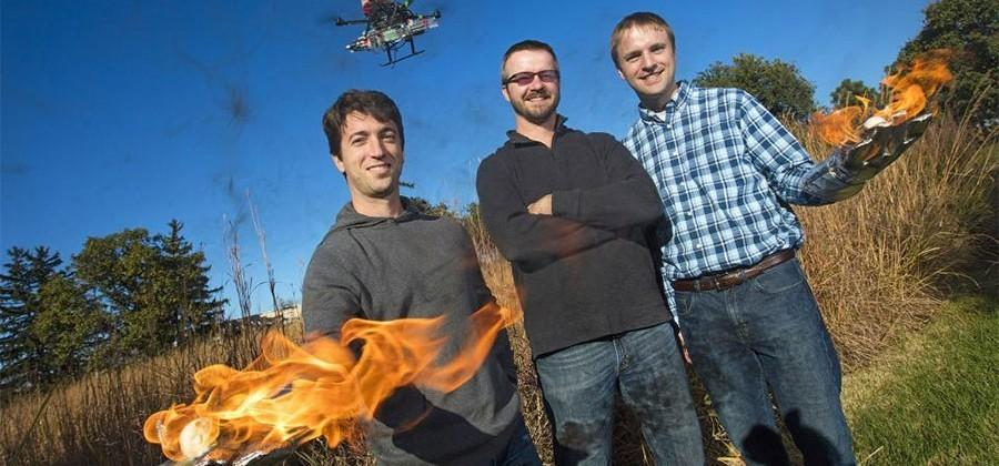 Drone designed at University of Nebraska-Lincoln is meant to start fires