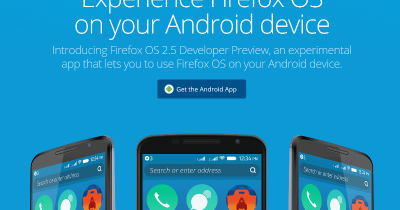 Experience Firefox OS on your Android phone the safe way