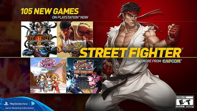 PlayStation Now scores 105 new games