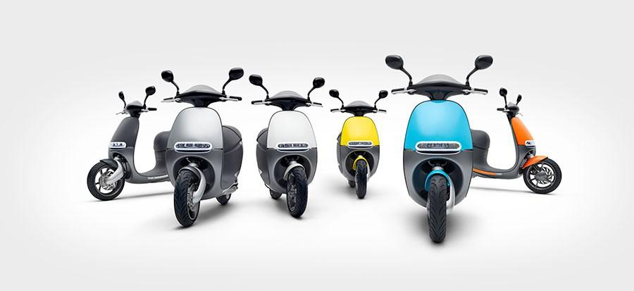 Gogoro Smartscooter and Energy Network heads to Europe