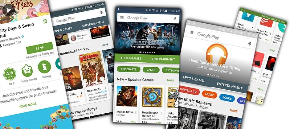 Google Play radically updated: APK download available now