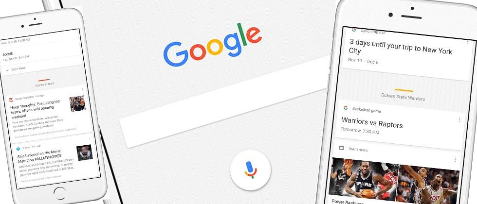 Google app for iOS gets a big update kick in the pants