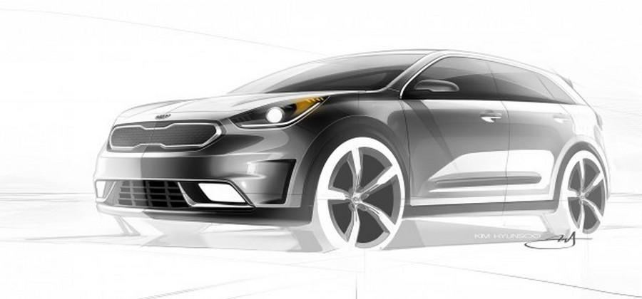 Kia Niro crossover hybrid is the brands first stand-alone hybrid