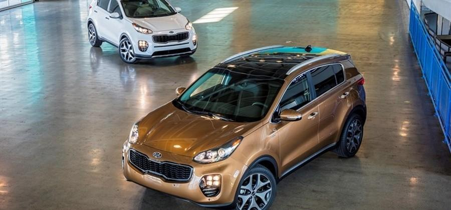 2017 Kia Sportage available with 241hp turbo four and all-wheel drive