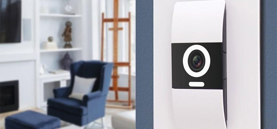 D-Link Komfy Smart Home Device is a switch with built-in camera