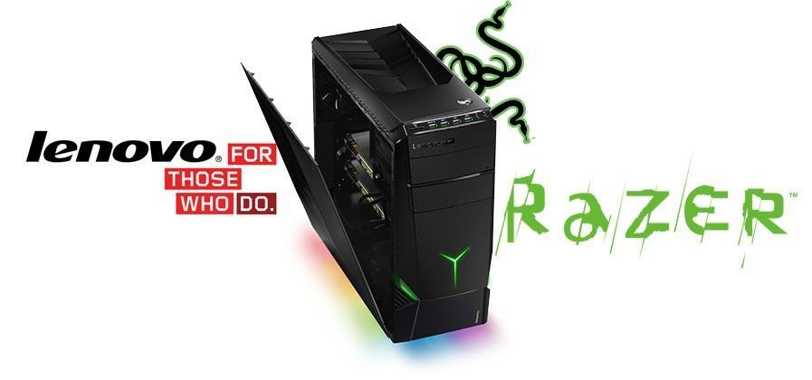Lenovo and Razer team up for co-branded gaming PCs