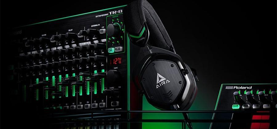 Roland and V-Moda team for M-100 Aira headphones