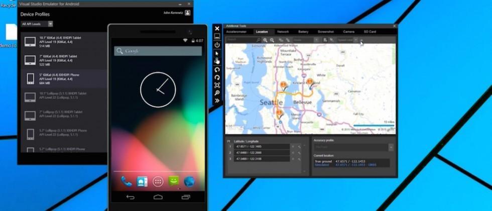Microsoft bringing Visual Studio Android emulator to Mac