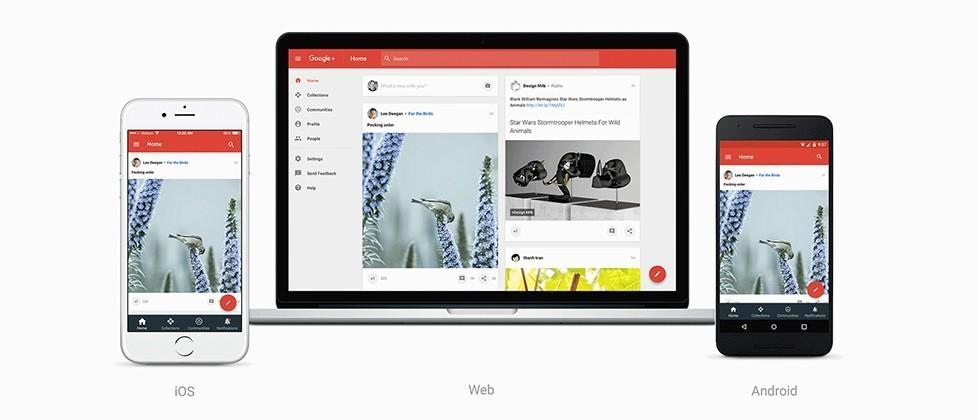 Google just completely revamped Google+