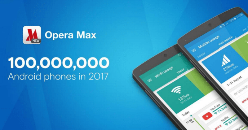 Opera Max data saver app makes its way to 14 OEM devices