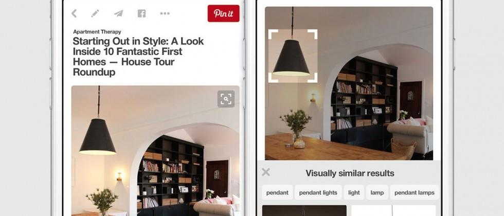 Pinterest can now search visually within pins for similar items