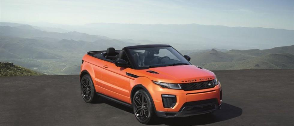 Range Rover Convertible >> Range Rover Evoque Convertible Can Drop The Top At Up To