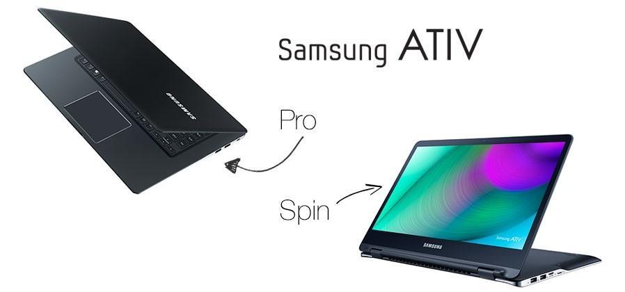 Samsung ATIV Book 9 Pro and Spin: 4K laptop, transformer notebook