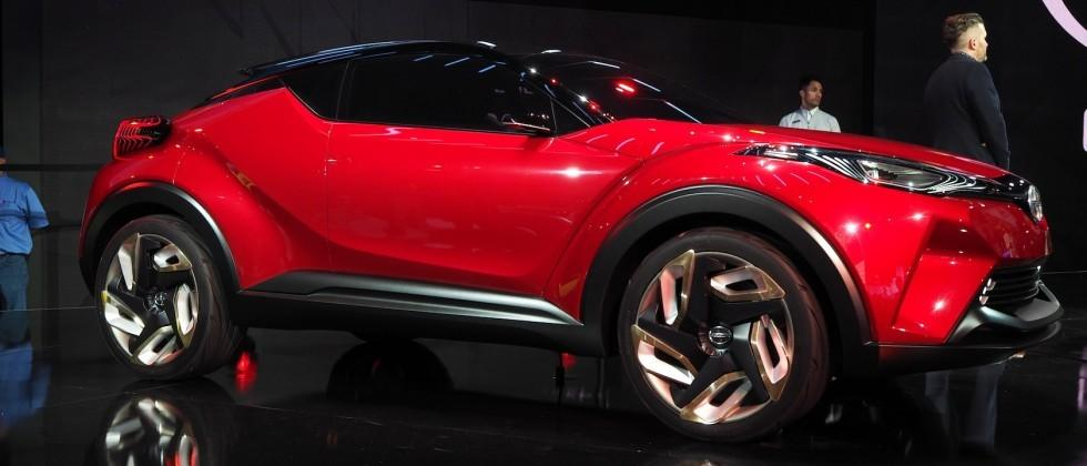 Look what Scion made: The C-HR Concept is wild