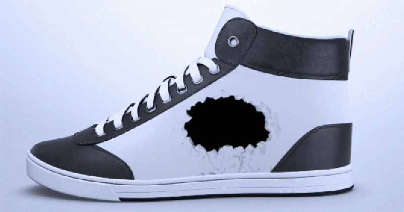 ShiftWear uses e-ink display to spruce up your sneakers