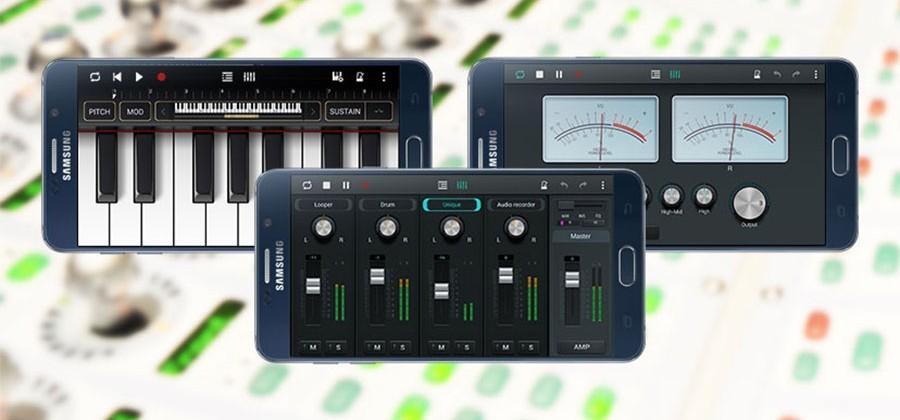 Samsung Soundcamp app lets you create music on your smartphone