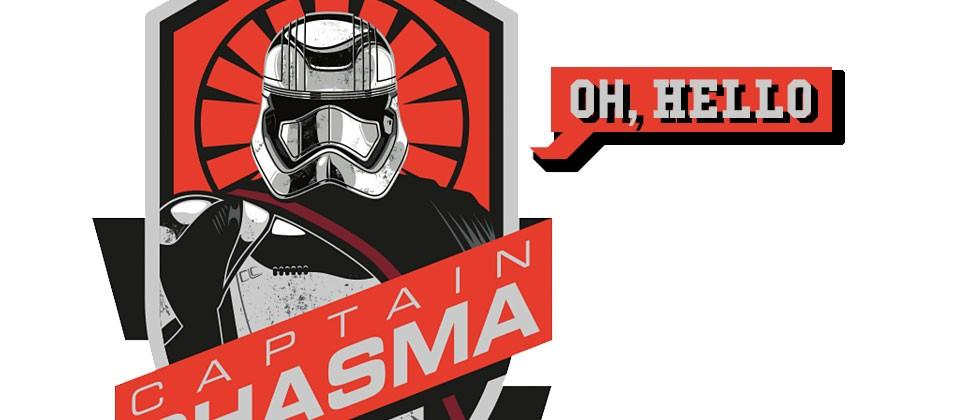 Captain Phasma speaks: audio of Star Wars' most mysterious character